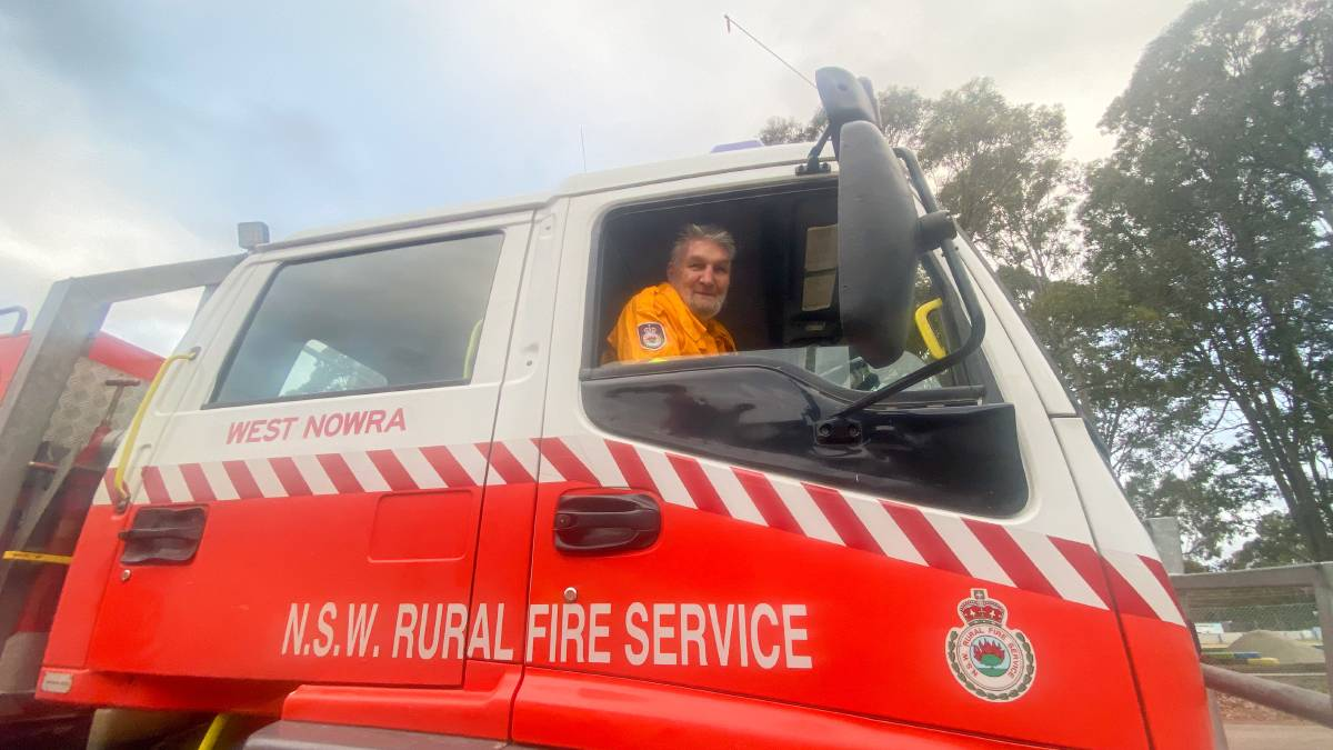 Victor Judson celebrated 52 years with the RFS on Tuesday night. Image: Grace Crivellaro.