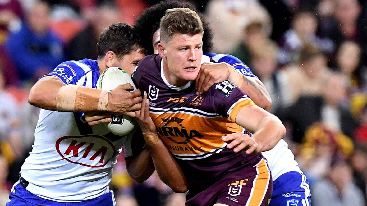 Moruya-born Rhys Kennedy has taken his career to the next level at Brisbane. Photo: Broncos Media