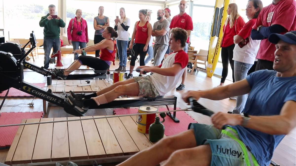 The Gerringong SLSC will host a 24-hour row for mental health awareness later this month. Photo: Supplied