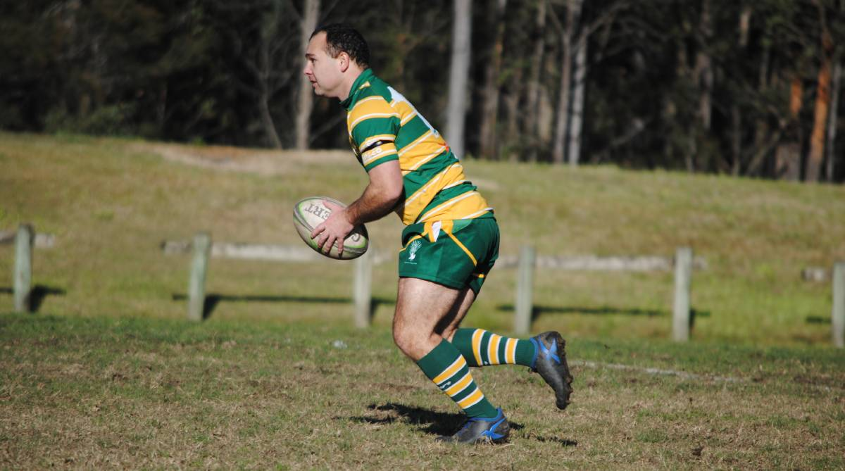 Skipper Steve Brandon and his Shoalhaven side went down by five points to Campbelltown. Photo: Damian McGill