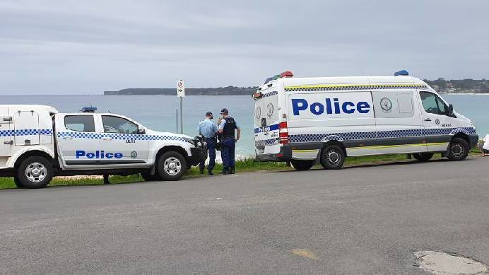 Police confirm remains at Mollymook are human but not Melissa Caddick's