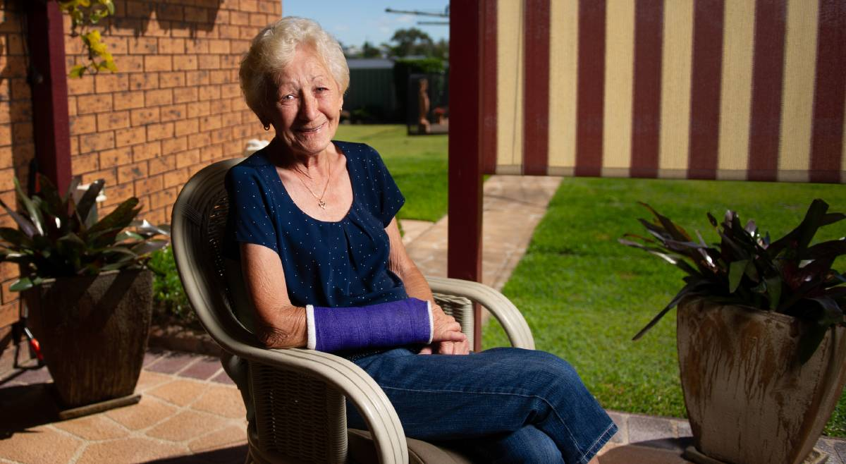 Ilona Grigg wants to publicly thank the Volunteers for Palliative Care and Maitland Police for being there when she needed them most. Photo: Marina Neil