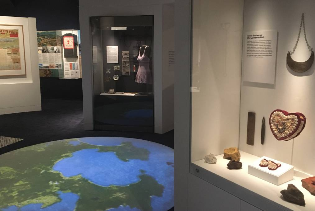 HISTORY: The new exhibition at Huskisson's Jervis Bay Maritime Museum is called 'Munggura-Nggul', which means 'home-belong' in the local Dhurga language.