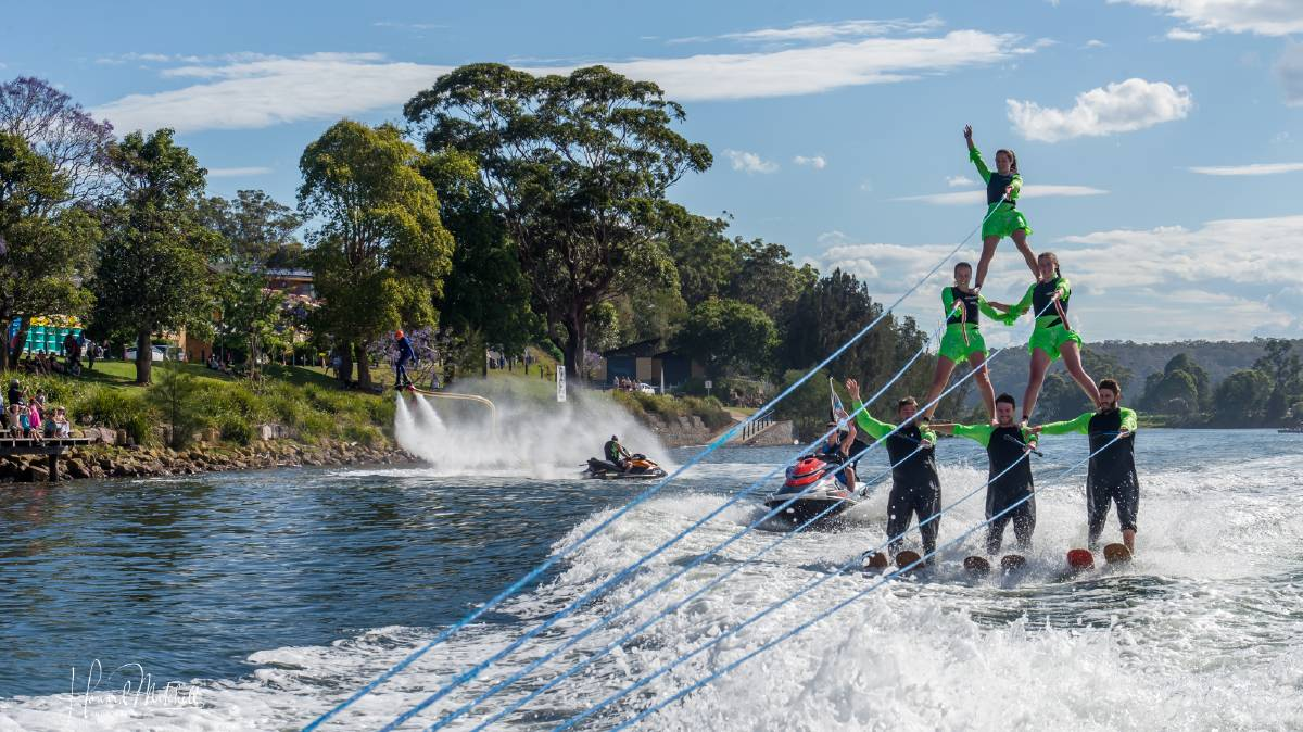 ON THE WATER: Well-known local photographer Howard Mitchell captured some of the spectacular action from last weekend's Shoalhaven River Festival.