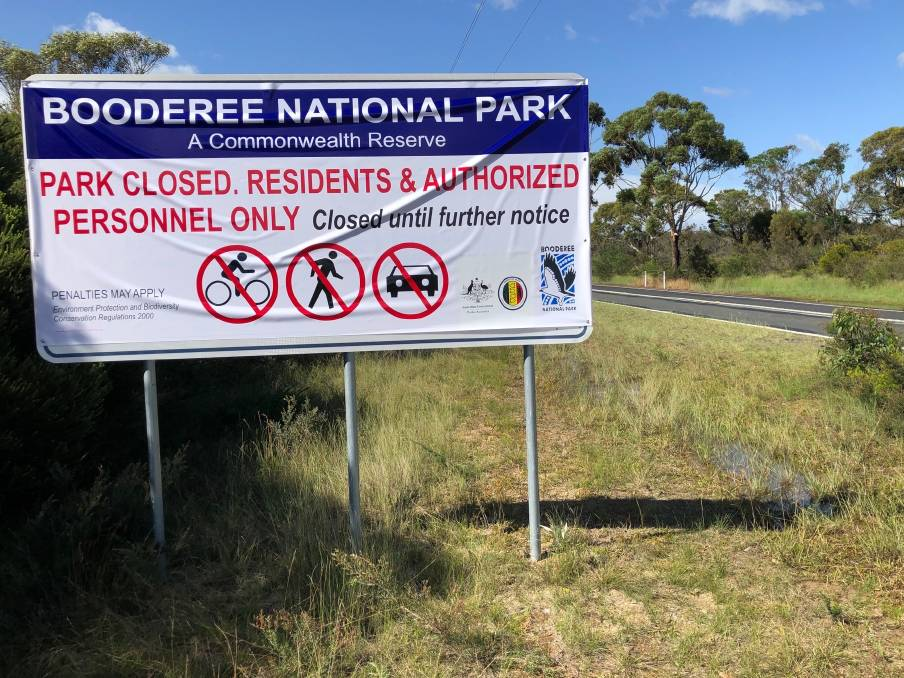 CLOSED: Three people have already been fined $2500 for being non-residents for not complying with the Booderee National Park closure directions.