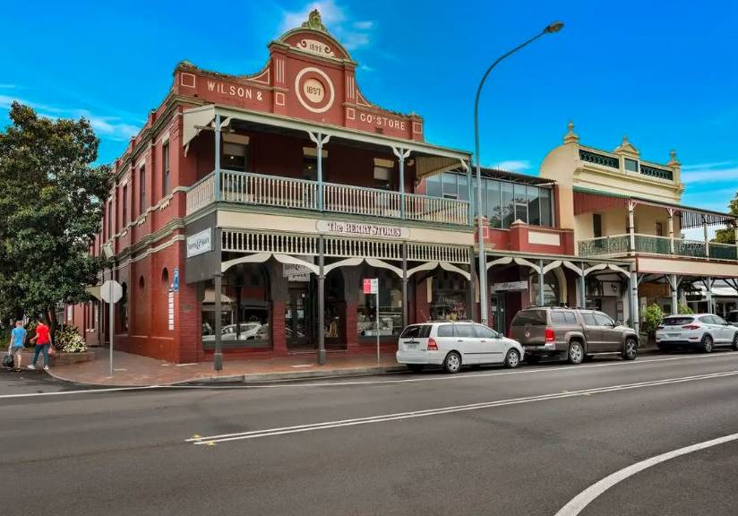 ON THE MARKET: The historic Wilson's Store building in Queens Street, Berry is on the market. Image: Supplied.