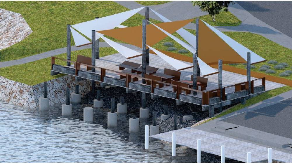 NEW LOOK: What the Nowra Sails project on the former Nowra Sailing Club site on the southern bank of the Shoalhaven River at Nowra will look like. Image: Shoalhaven City Council