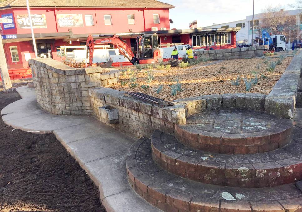 NEW LOOK: The William Batt Memorial Garden, affectionate;y known as Batt's Folly on the corner of Bridge Road and North Street in Nowra is getting a makeover by Shoalhaven City Council. ,