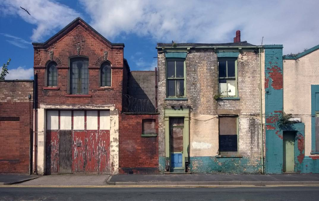 Empty storefronts in a recession-hit street. Picture: Shutterstock