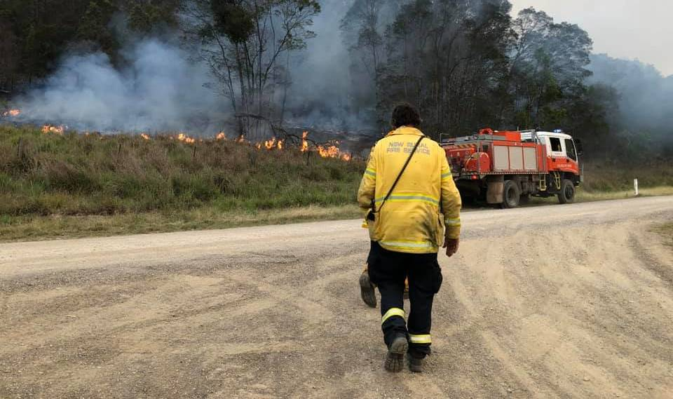 Help here: The Bush Fire Support Service offers emergency service workers and their adult family members up to 12 one-on-one psychological mental health care sessions. Photo: Sharon Ford, Telegraph Point.