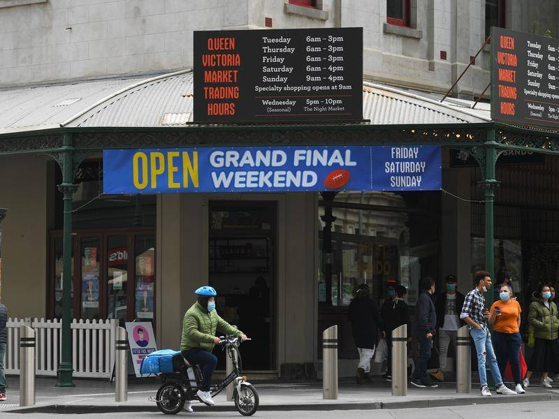 Melburnians have been warned about their partying plans for the AFL grand final.