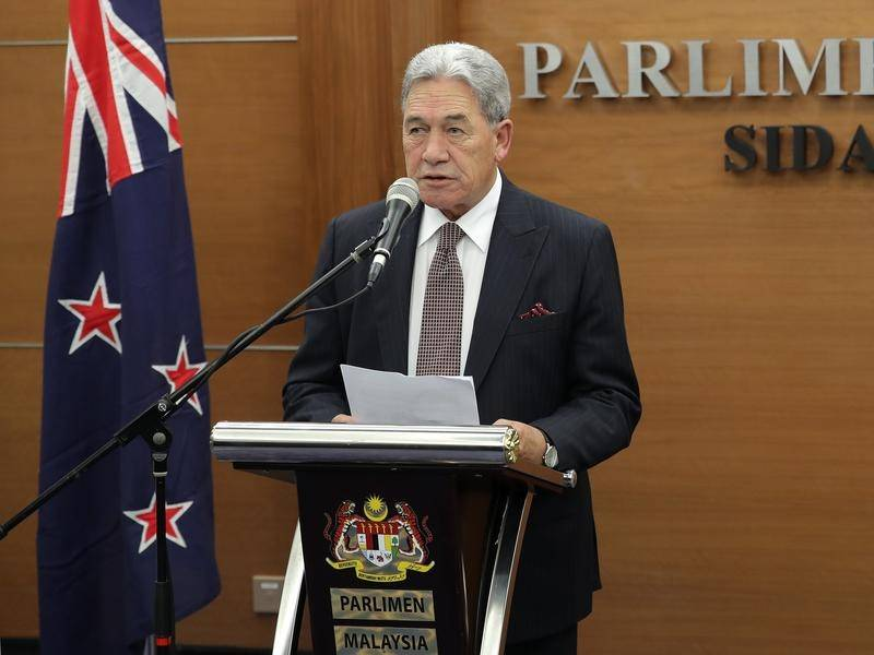 Acting NZ prime minister Winston Peters expects quarterly growth to fall below 0.6 per cent.