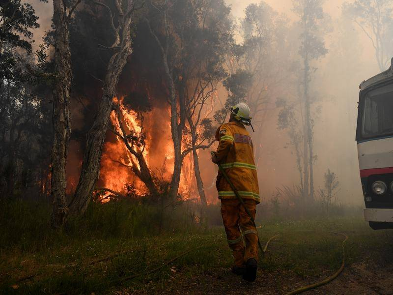 The Rural Fire Service says the NSW bushfire danger period will start two months early this year.