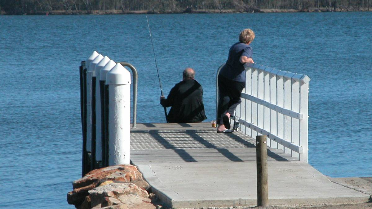 Hopefully the fish will be biting during the St Georges Basin Fishing Club's upcoming family fishing event.